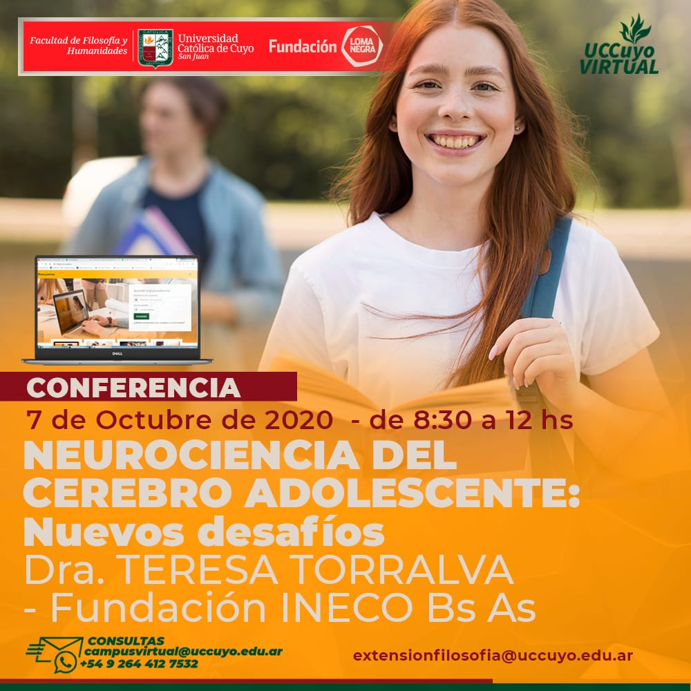 Conferencia sobre Neurociencias del Cerebro Adolescente